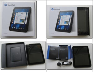 HP TouchPad Tablet unbox